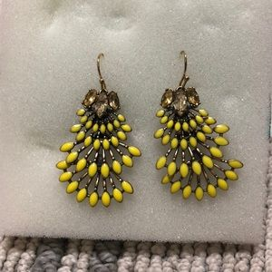 Stella and Dot Norah chandelier earrings